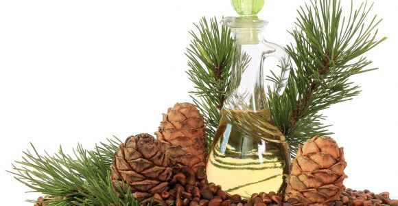 Hair care cosmetics with Pine Oil