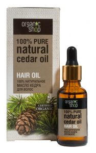 ORGANIC SHOP PINE HAIR OIL